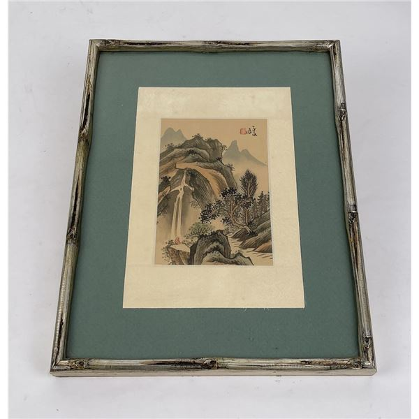 Antique Chinese Watercolor Painting