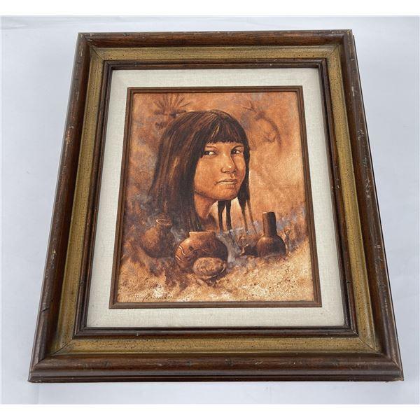 Tony Sandoval Oil on Canvas Painting
