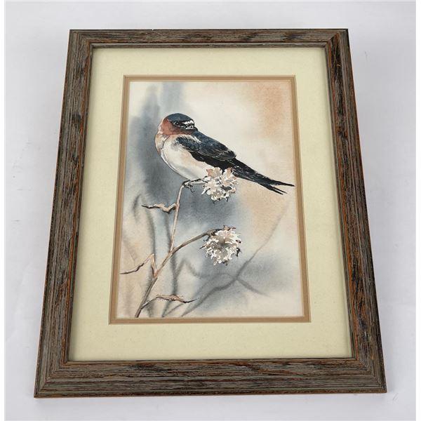 Sherry Tuss Montana Watercolor Painting