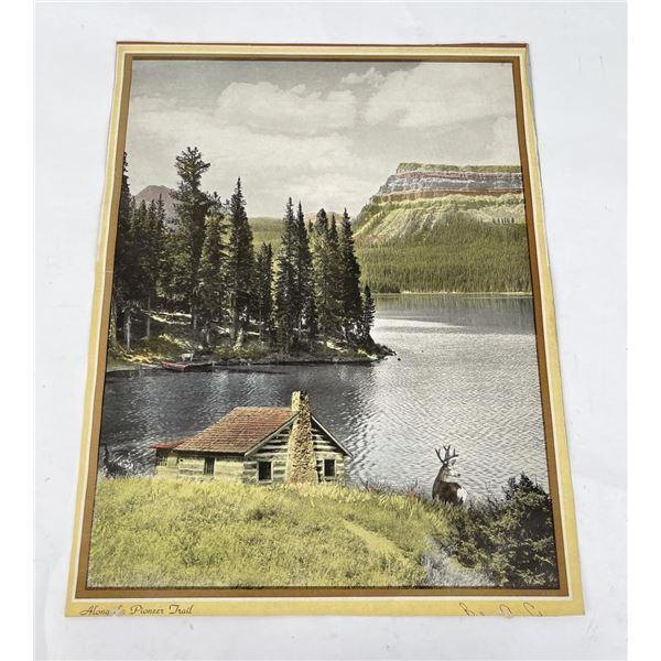 Unusual Tinted Montana Photo