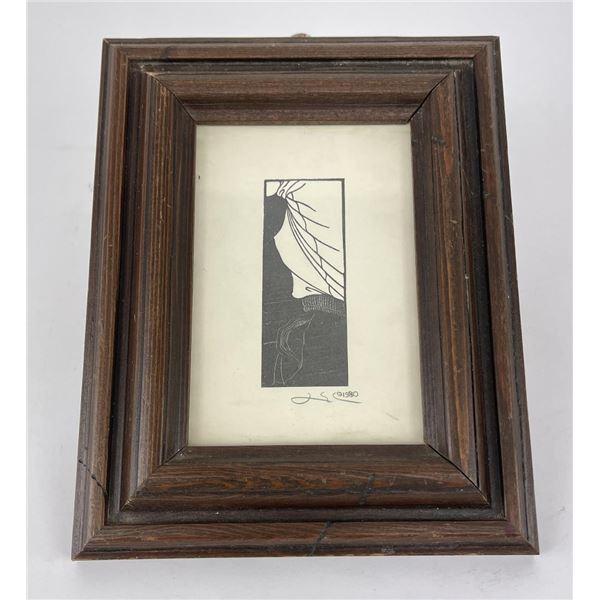 Dirk Lee Missoula Montana Woodblock Print