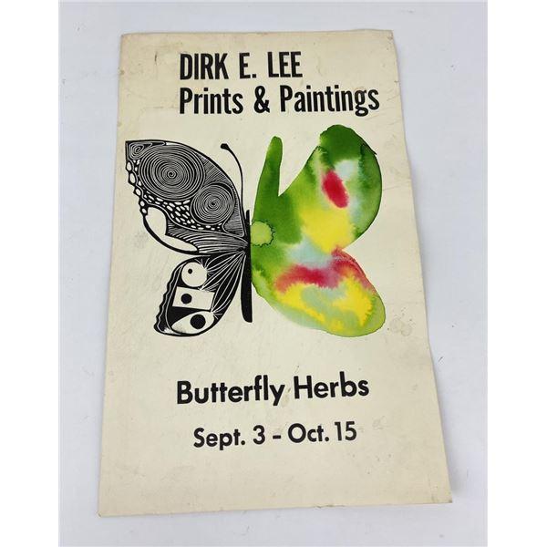 Dirk Lee Missoula Montana Exhibition Poster