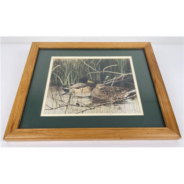 Clay Montana Duck Print Signed Numbered