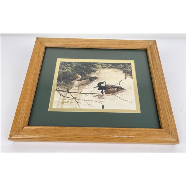 Signed and numbered Duck Print Montana