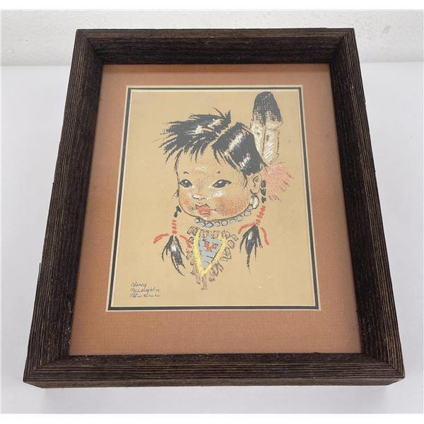 Nancy McLaughlin Powell Indian Painting Montana