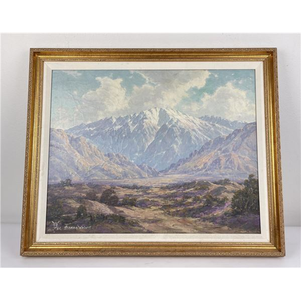 High Desert Painting Thomas Wright