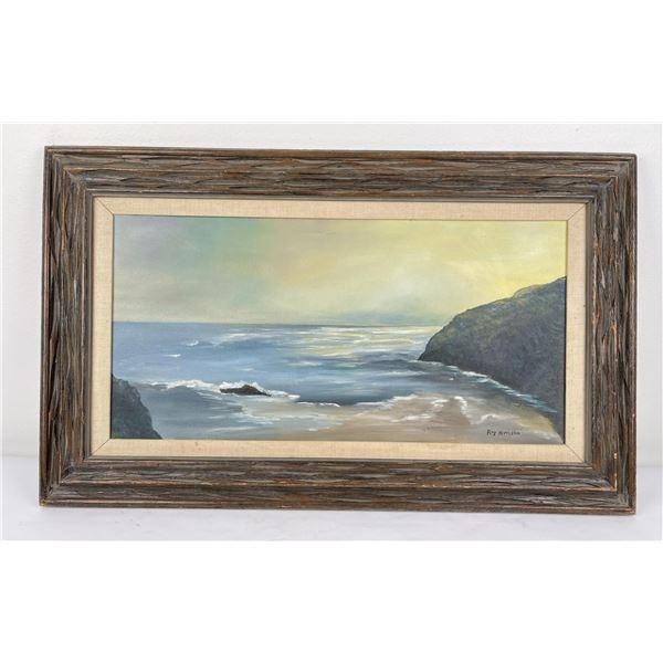 Ray Miffleton California Seascape Oil Painting