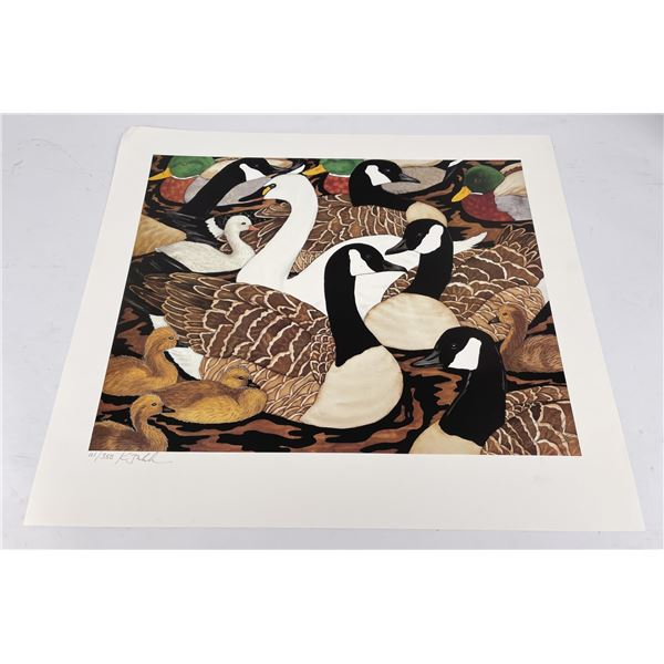 Signed and Numbered Goose Duck Print