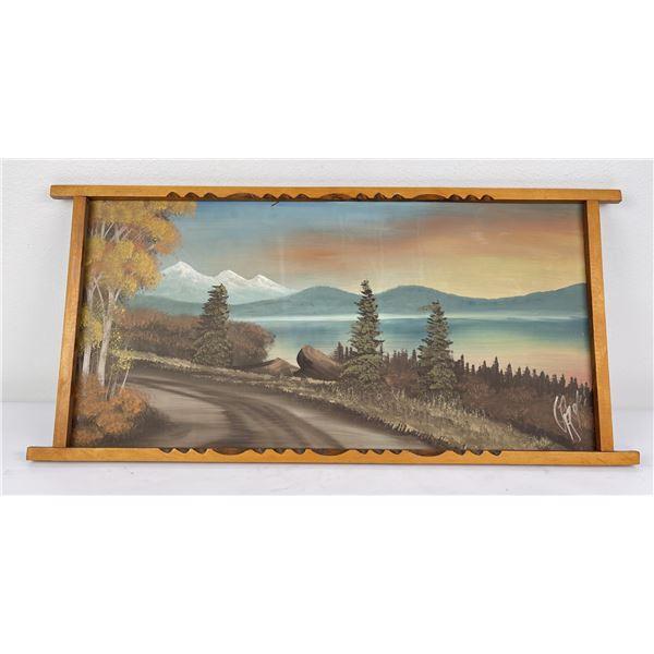 Antique Northwest Tourist Plein Air Painting