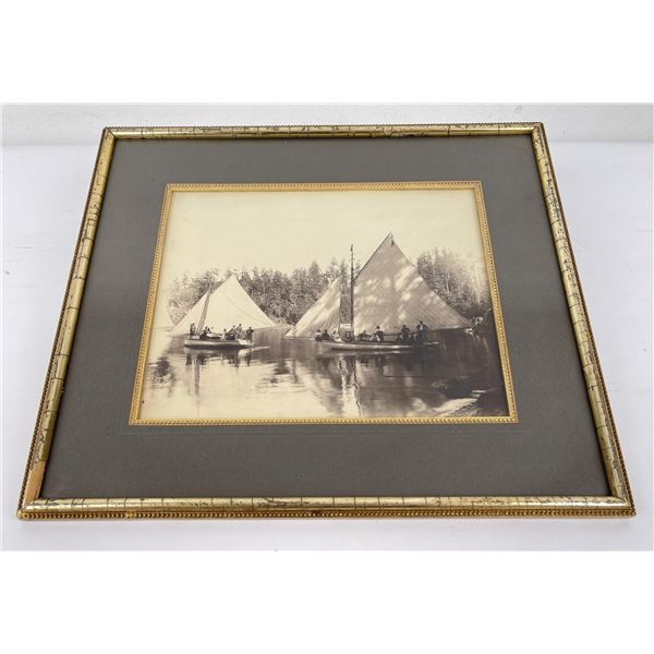 Montana Photo of Sailboats on Pond