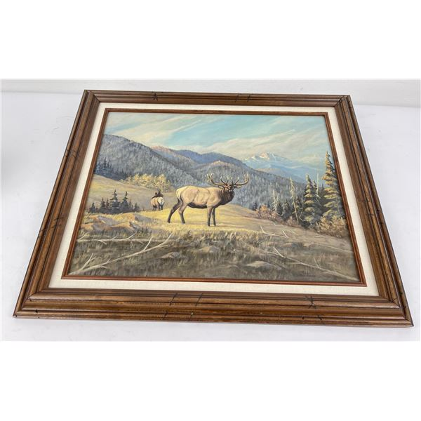 Ross Sutherland Montana Oil on Board Painting