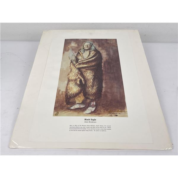 Jesse Henderson Signed Numbered Print