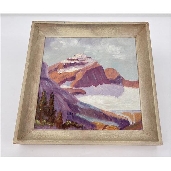 Glacier Park Montana Plein Air Painting