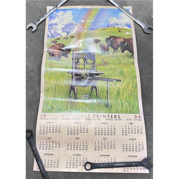 Monte Dolack Missoula Montana Calendar