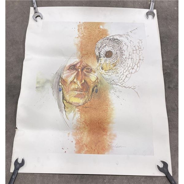 Bert Seabourn Signed Print