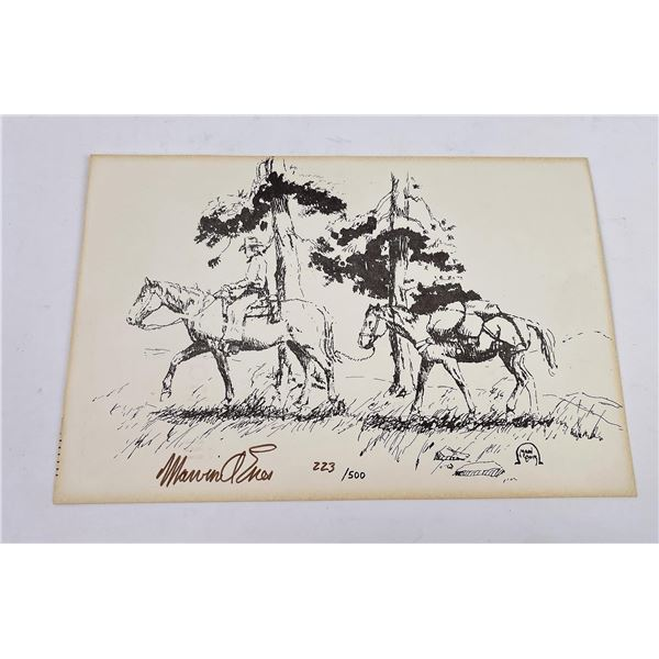 Marvin Enes Signed Numbered Print