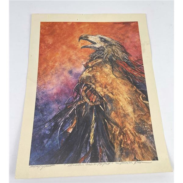 Charles Bear Artist Proof Print Montana