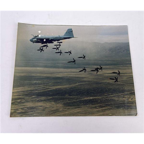 Vietnam US Navy Cluster Bomb Test Photo