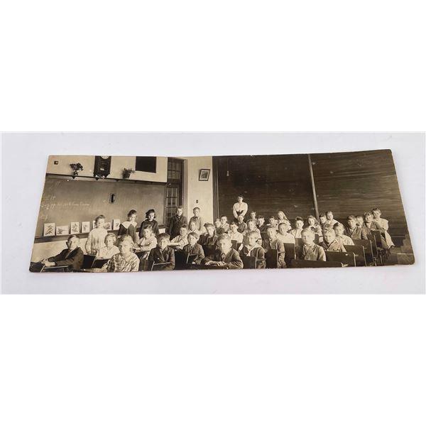 Early Missoula Montana Schoolroom Photo