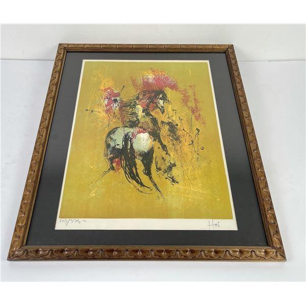 Hoi Lebadang Horse Print Signed Numbered
