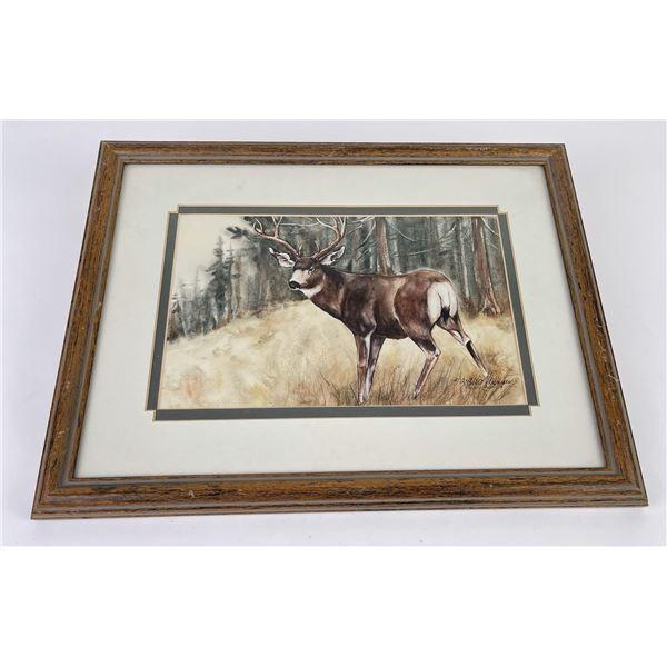 Majorie Harper Montana Watercolor Painting