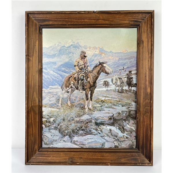 Charles M Russell Print Montana Print