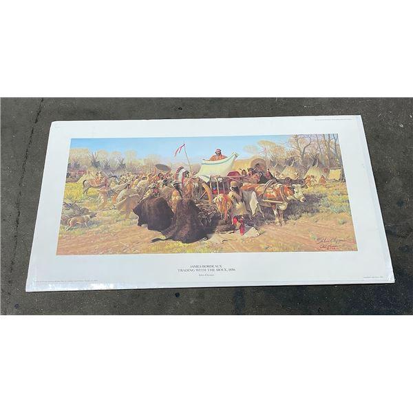 John Clymer Indian Signed Numbered Print