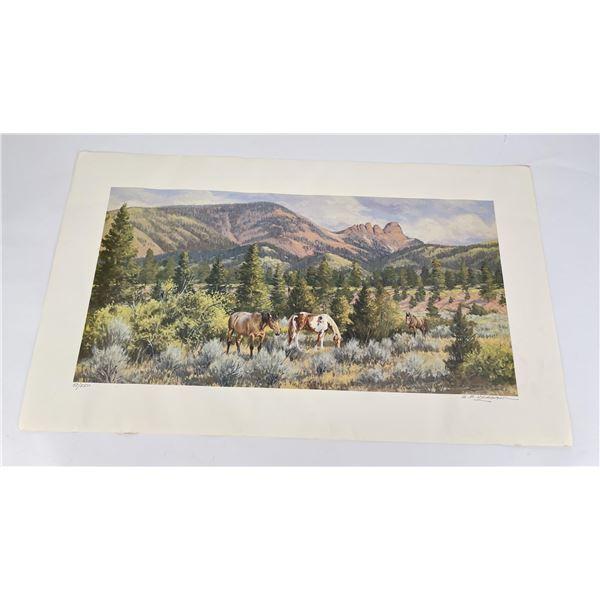 Robert Bob Morgan Montana Print