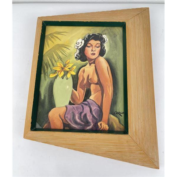 Carlo of Hollywood Polynesian Painting