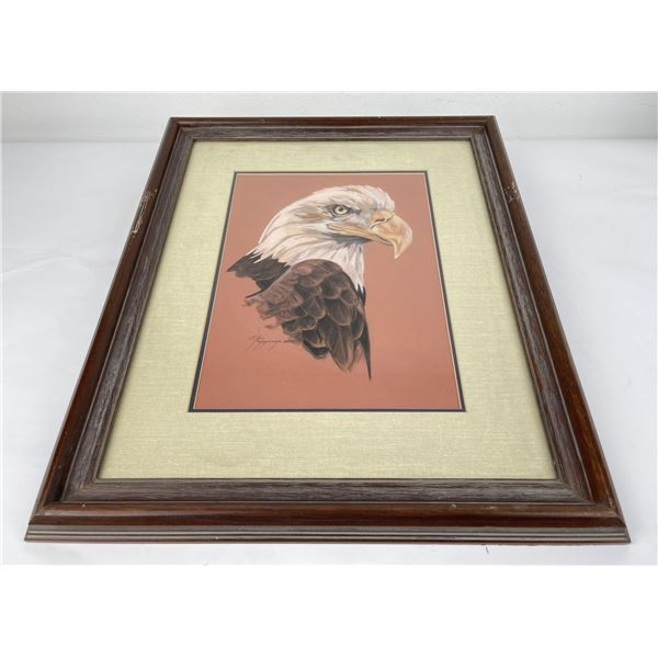 C.S. Poppenga Eagle Painting Montana