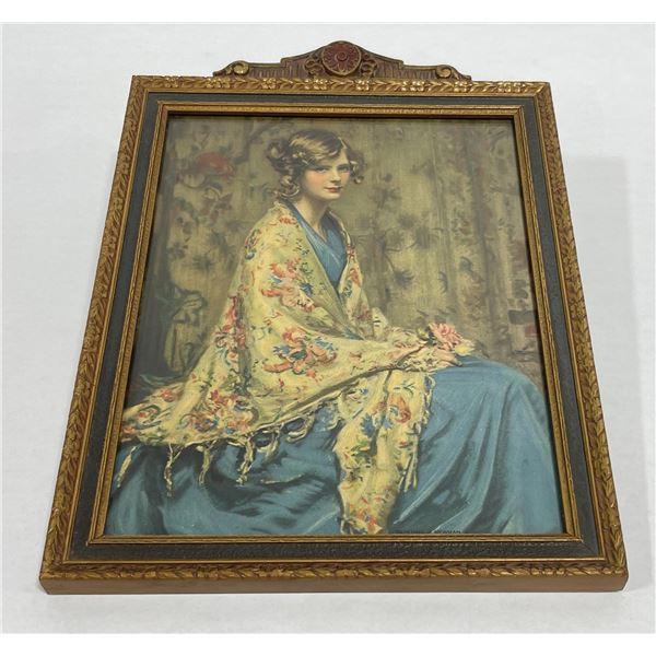 Alice Blue Gown Arthur Garrett Print