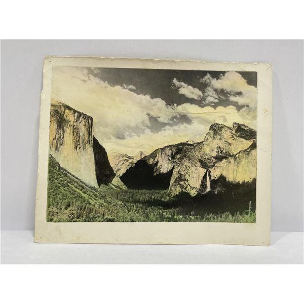 Hand Tinted National Park Canyon Photo