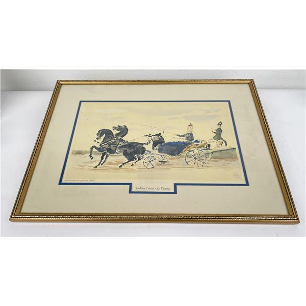 Toulouse Lautrec La Victoria Print
