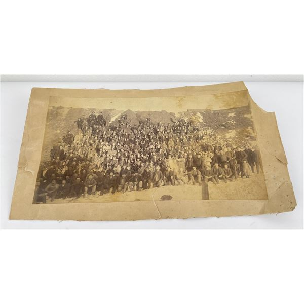 Antique Butte Montana Miners Photo