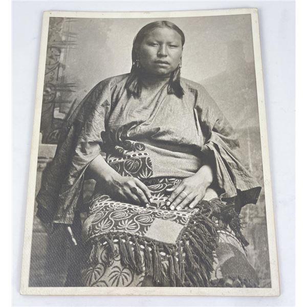 Native American Indian Woman Photo