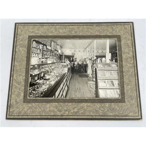 Antique Soda Fountain Drygoods Store Photo
