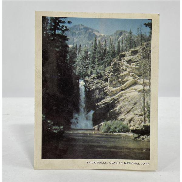 Antique Glacier Park Montana Greeting Card