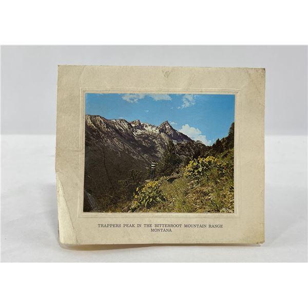 Trapper Peak Montana Photo Card
