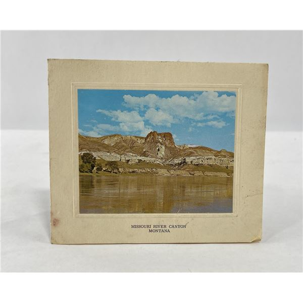 Missouri River Canyon Montana Photo Card