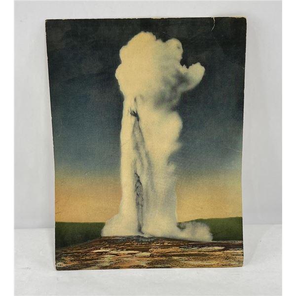 Haynes Giant Post Card Yellowstone Park