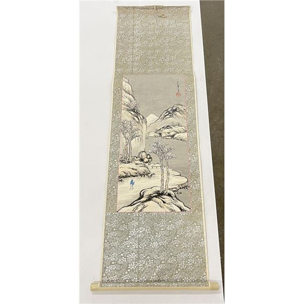 Antique Chinese Scroll Painting