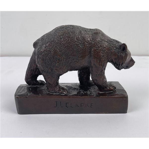 Mother Bear John Louis Clarke Bronze Montana