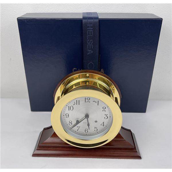 New in Box Chelsea Shipstrike Ship Clock