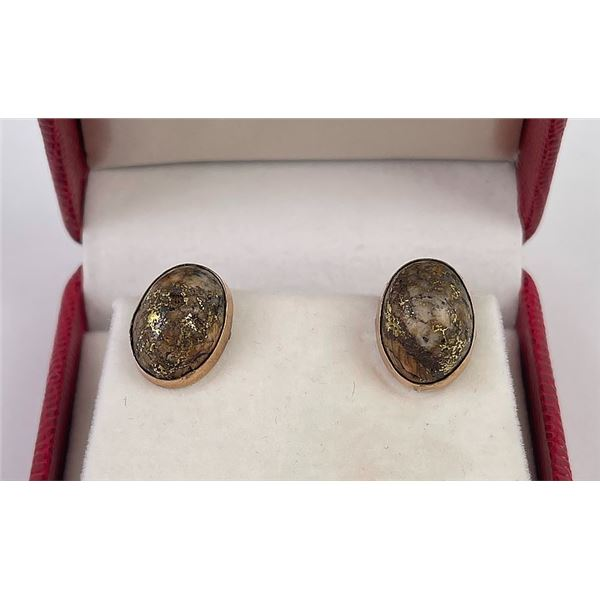Antique Alaskan Gold Miner Cufflinks