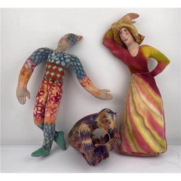 Lenore Davis Soft Sculpture Dolls