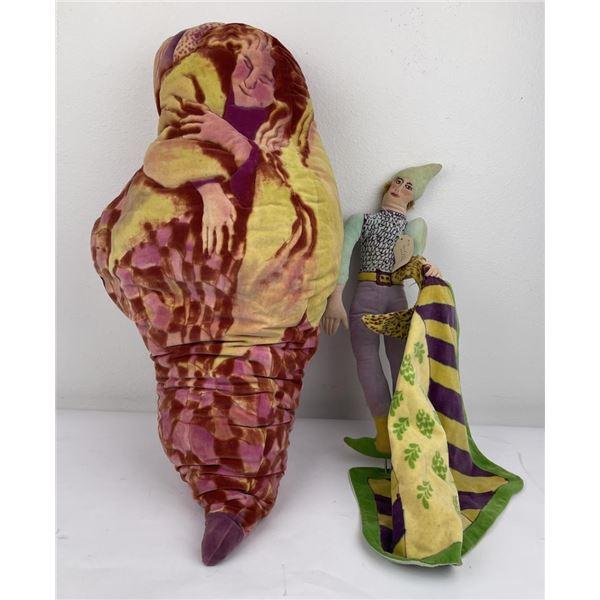 Lenore Davis Soft Sculpture Doll Pillow