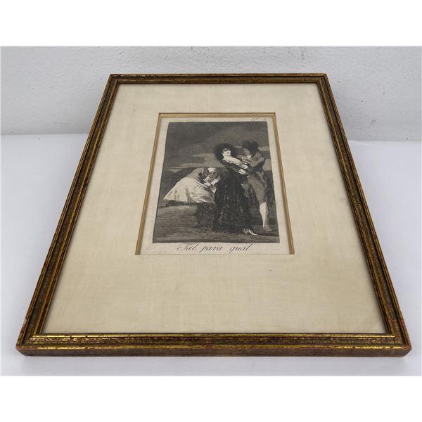 Tal Para Qual (Two of a Kind) Francisco Goya