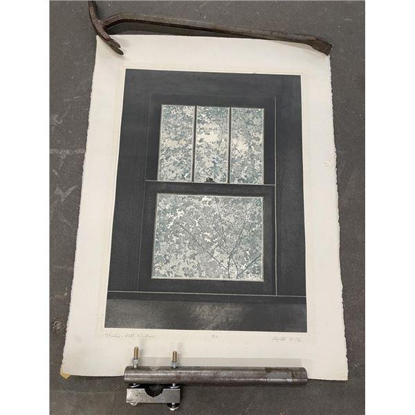 Hugh Kepets 1974 Engraving North Window