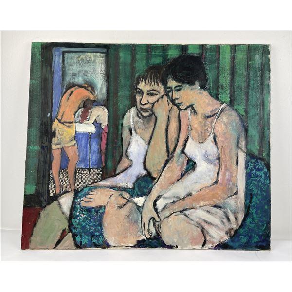 Lenore Davis Oil on Canvas Painting