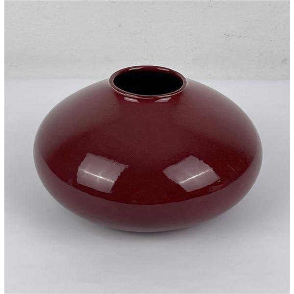 Mid Century German Amano Red Vase